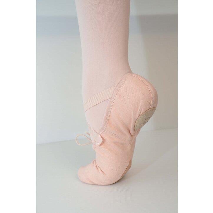 נעלי בלט מפוצלות מבד בלוך 2