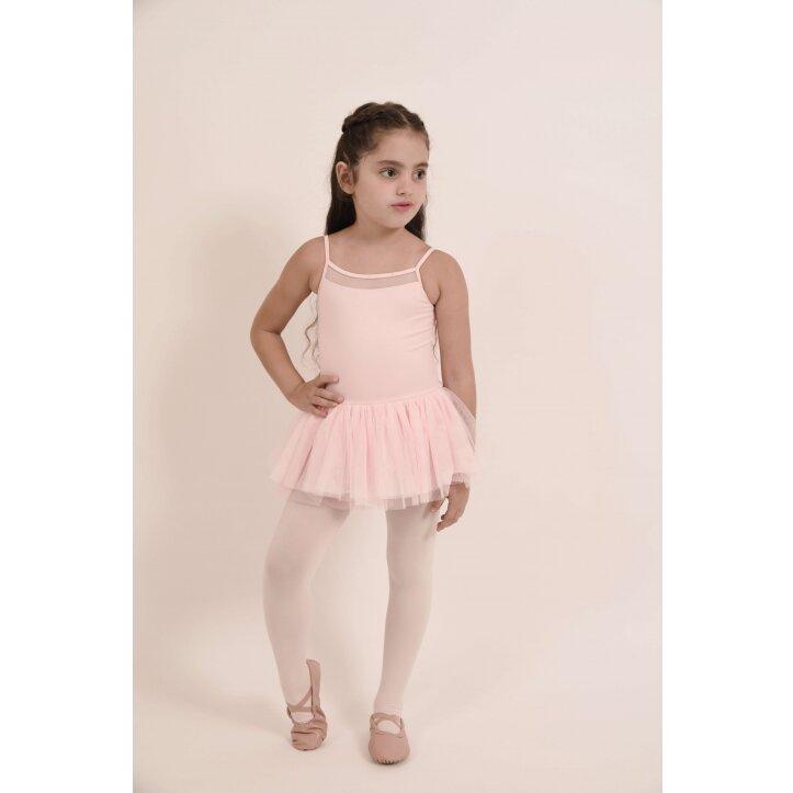 בגד גוף לילדות בלוך עם חצאית 4