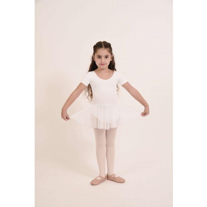 בגד גוף לילדות משולב חצאית שיפון2