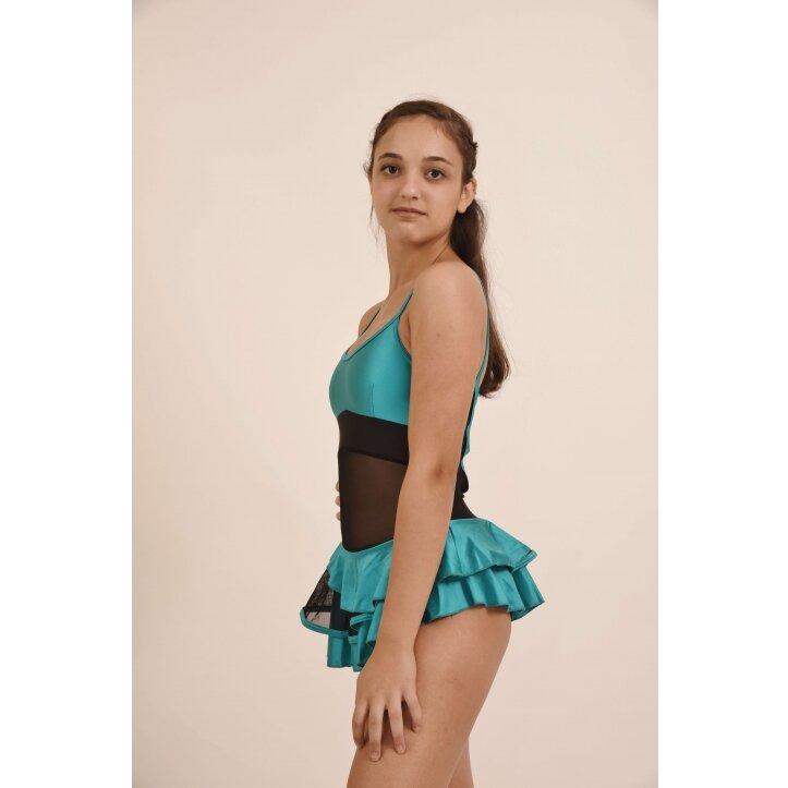 שמלת סלונים פרודנס טורקיז 4
