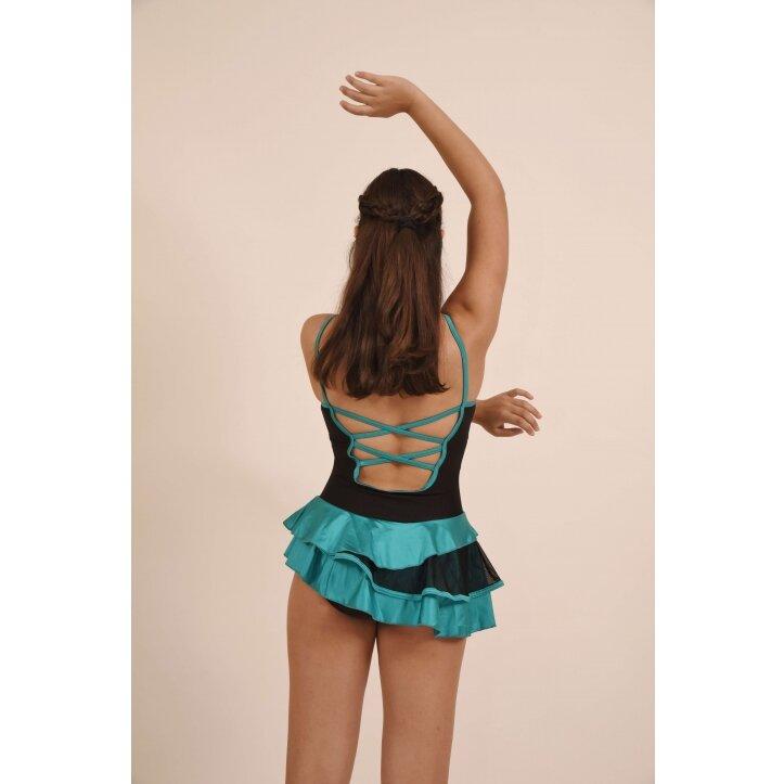 שמלת סלונים פרודנס טורקיז 8