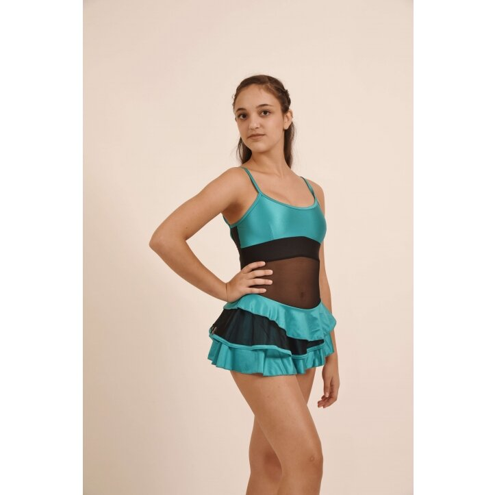 שמלת סלונים פרודנס טורקיז 9