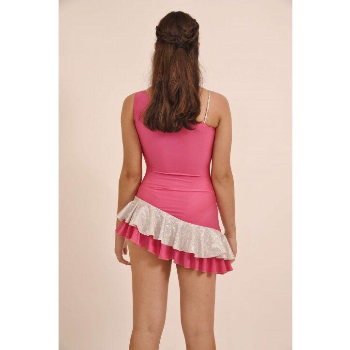 שמלת סלונים אולינדה ורוד 5