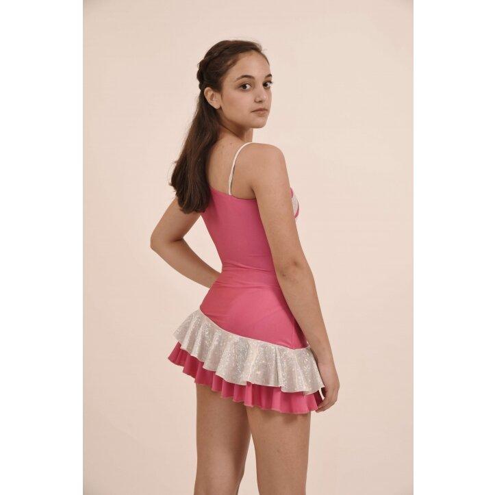 שמלת סלונים אולינדה ורוד 3
