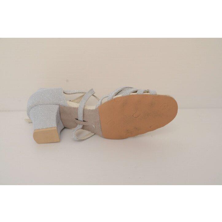 נעלי סלונים ילדות כסופות 7