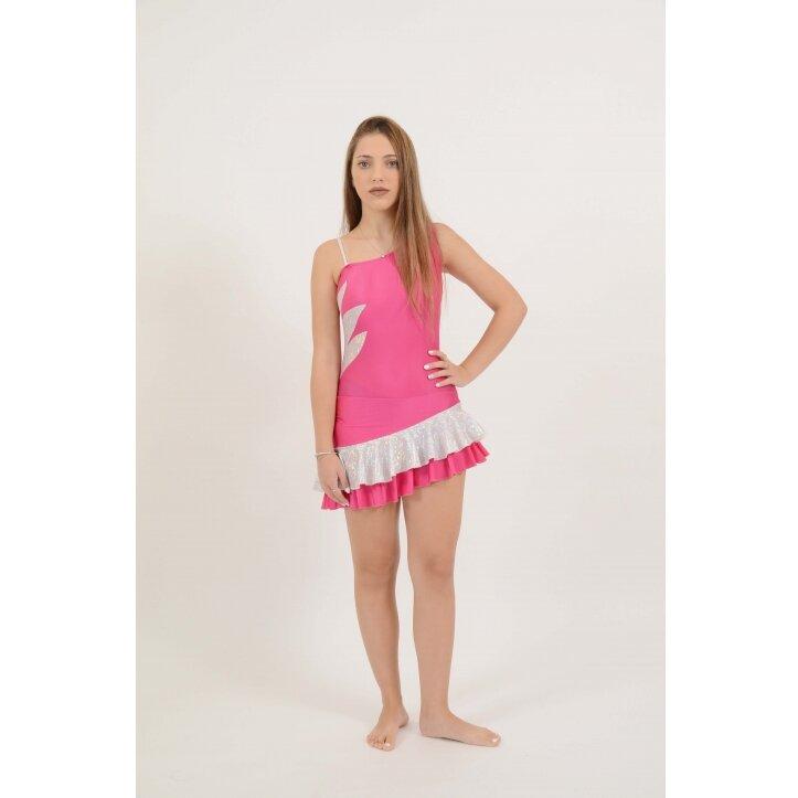 שמלת סלונים אולינדה ורוד 8