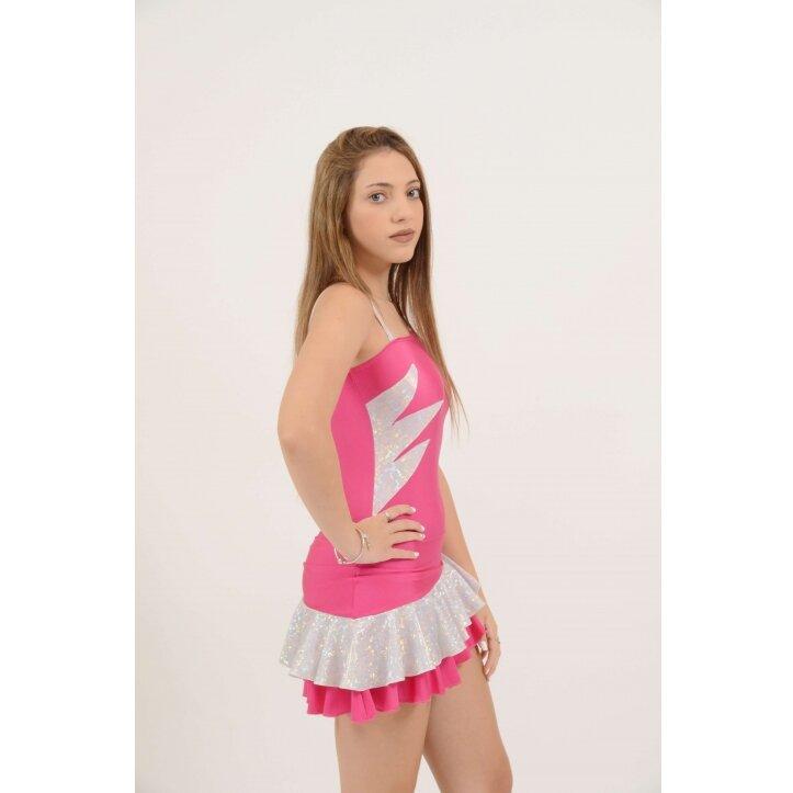 שמלת סלונים אולינדה ורוד 2